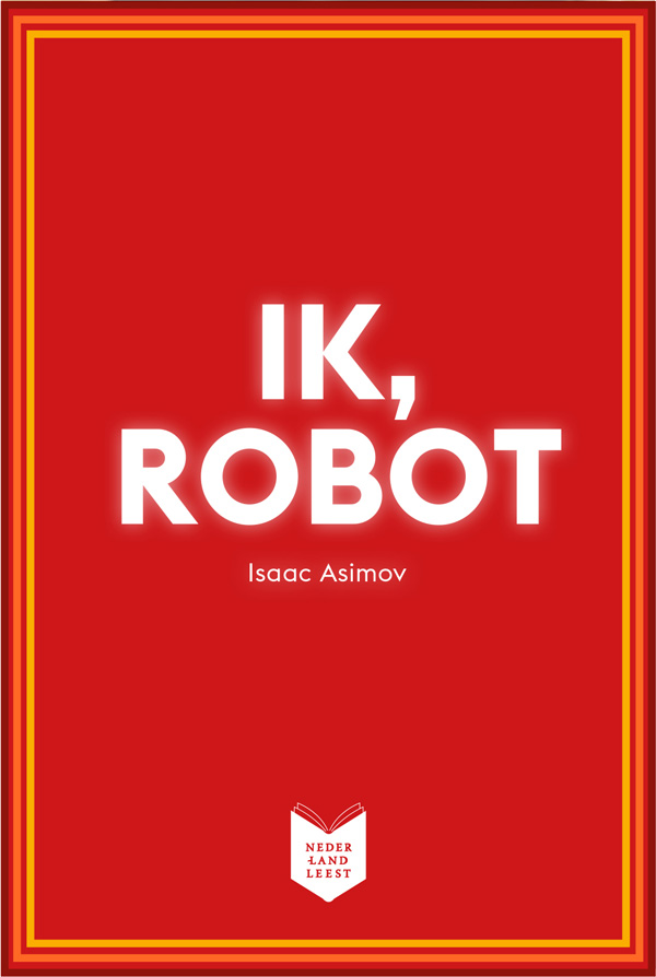 boekcover ik, robot